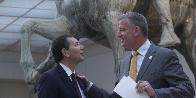 Ignazio Marino riceve un tweet di sostegno da Bill De Blasio, sindaco di New York: