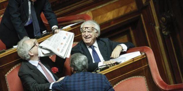 Unioni civili, Denis Verdini diventa buttafuori della sinistra