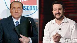 E a cena Silvio dice a Salvini: