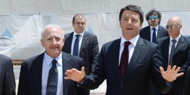Matteo Renzi prende tempo su Vincenzo De Luca: