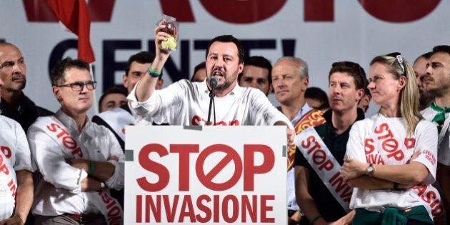 Altro che Berlusconi. Matteo Salvini in Emilia ha già