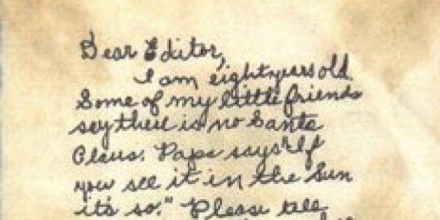 Esiste Babbo Natale Si O No.Si Virginia Babbo Natale Esiste Questa Lettera Di Un Giornalista
