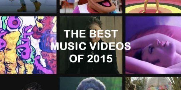 I 25 video musicali migliori del 2015