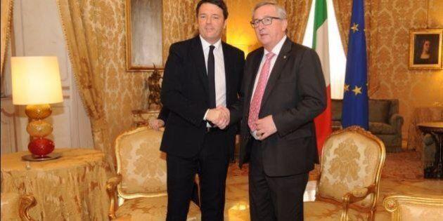 Jean Claude Juncker a Roma: