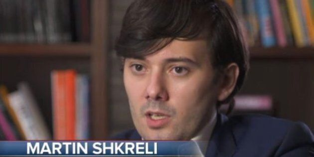 Martin Shkreli, il titolo della società crolla in borsa: