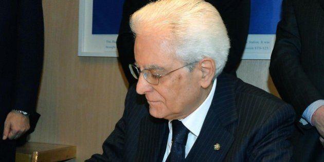 Sergio Mattarella ha firmato l'Italicum, la nuova legge elettorale. GIorgio Napolitano: