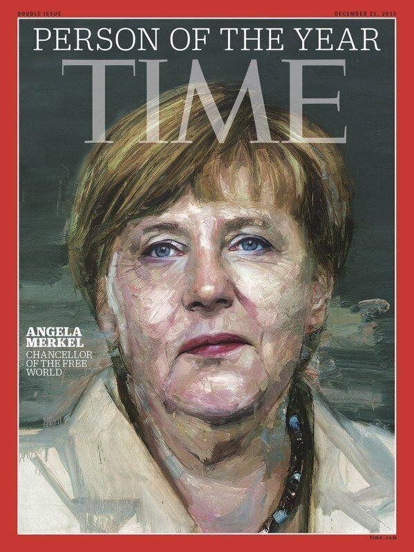 Angela Merkel è la persona dell'anno per il Time.