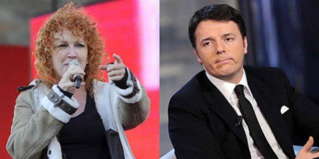 Fiorella Mannoia a Matteo Renzi: