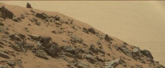 Una piramide su Marte nelle foto Nasa: