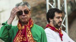 Bossi e Salvini. Così lontani, così
