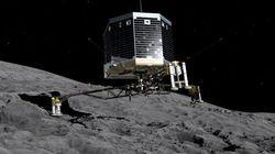 Sulla cometa tracce di carbonio, l'elemento centrale della vita sulla