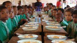 I pasti scolastici possono salvare le bambine