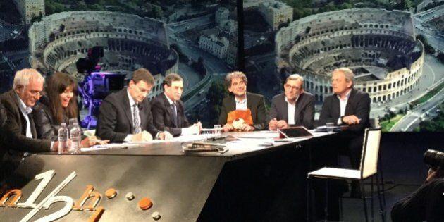 Gianfranco Mascia, il candidato dei verdi alle primarie di Roma in Tv con il