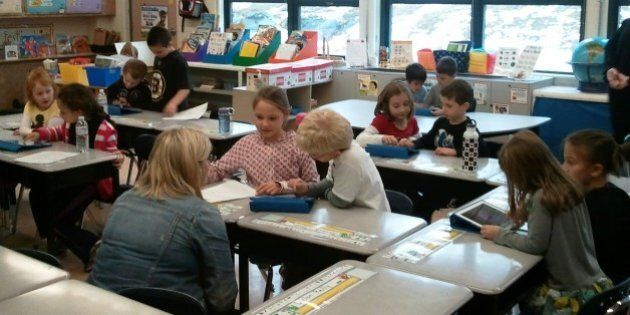 Thursday, November 8, 2012 - Education Secretary Paul Reville visited Birch Meadow Elementary School...