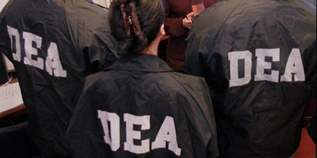 Drug Enforcement Administration Special Agent in Charge Michelle Leonhart speaks with field agents Wednesday,...