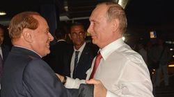 Berlusconi vola in Russia da Putin