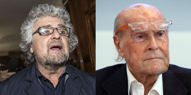 Beppe Grillo vs Umberto Veronesi: