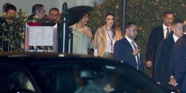 Agnese Renzi e Rania di Giordania: l'incontro fra le due first lady nel cuore di Villa Borgese a