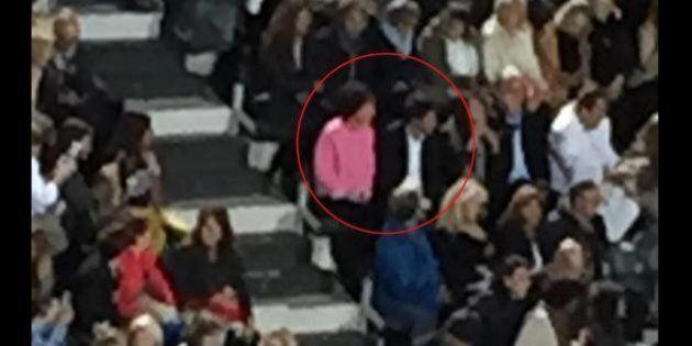 Matteo Renzi con la moglie Agnese si scatenano al concerto di Gianni Morandi e Claudio Baglioni (FOTO,