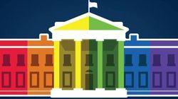 La Casa Bianca si tinge
