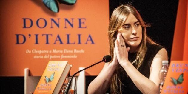 Banca Etruria, alla presentazione del libro di Vespa si celebra il presepe dell'era Renzi. E la Boschi...