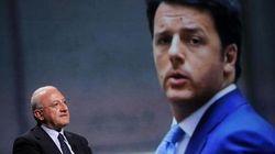 Renzi sospende De Luca ma solo dopo l'insediamento e non per