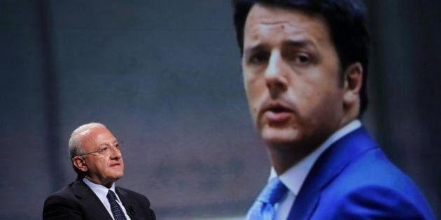 Matteo Renzi sospende De Luca ma evita il decreto legge: costo politico alto. E firma un atto