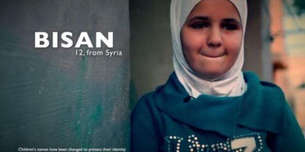 Siria, sei piccoli rifugiati si raccontano: