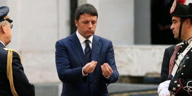 Fisco, Matteo Renzi: