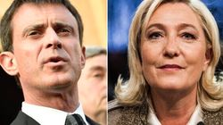 Valls all'attacco di Marine: