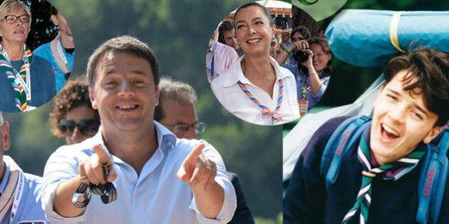 Raduno scout: con Matteo Renzi a San Rossore nasce il