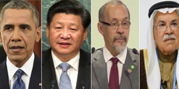 Da due uomini dipende il successo, da altri due il fallimento di Cop 21: Xi Jinping e Barack Obama, Guillermo...