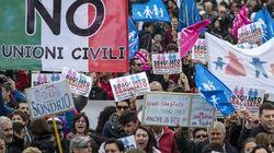 Renzi contro il popolo del Family day: