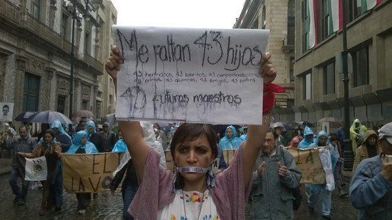 Ayotzinapa, un anno