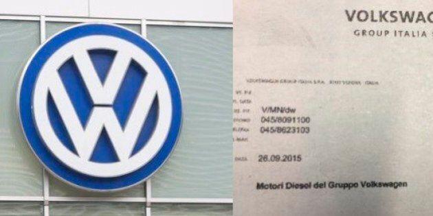Volkswagen scrive una lettera ai concessionari italiani: