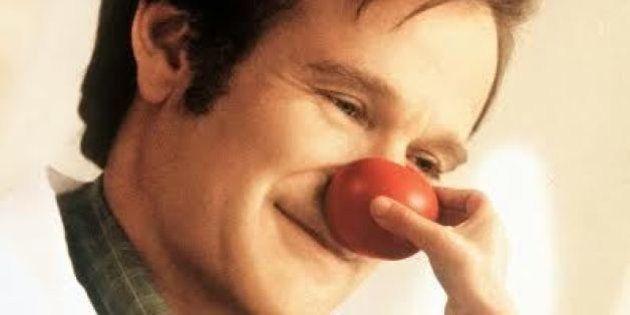 Robin Williams morto, portò al cinema Patch Adams e il sorriso come cura per i piccoli malati terminali...