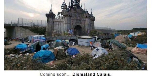 Dismaland trasferito a Calais, ospiterà migranti. Il parco creato da Banksy sarà trasferito (FOTO,