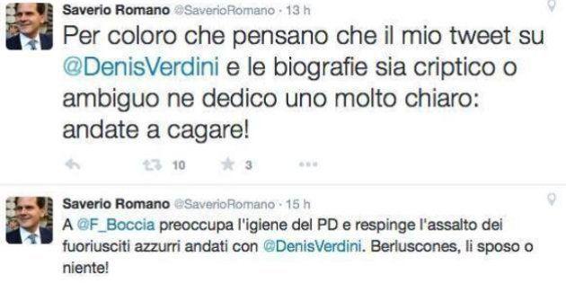 Saverio Romano su twitter: