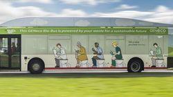 In Gran Bretagna l'autobus va a escrementi
