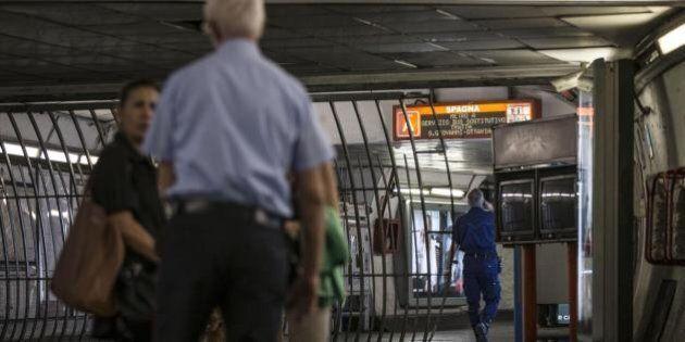 Cede soffitto alla metro Spagna di Roma, Stefano Esposito: