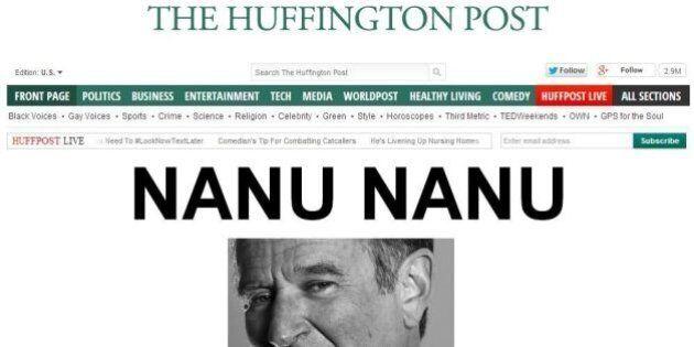 Robin Williams, le prime pagine della stampa di tutto il mondo