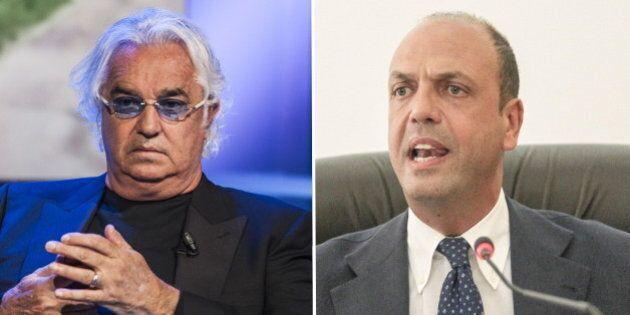 Vu cumprà, Flavio Briatore contro Angelino Alfano: