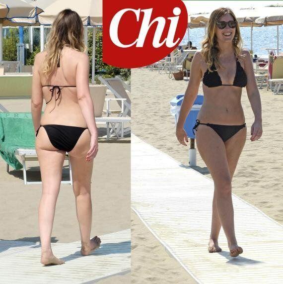 Maria Elena Boschi in bikini al mare di Marina di Massa: le foto pubblicate dal settimanale Chi