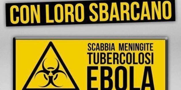 Ebola, Forza Nuova su facebook sugli immigrati: