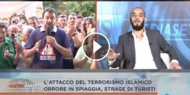 Matteo Salvini vs un musulmano: