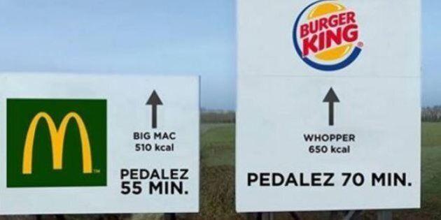 McDonald's vs Burger King, il servizio di bici Vélib ci scherza su: