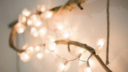 Illuminano e arredano: le lucine sono bellissime