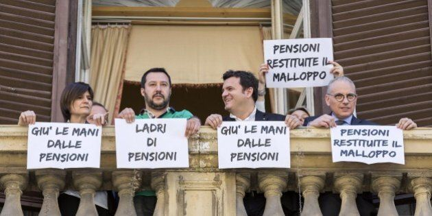 Matteo Salvini occupa il Mef: