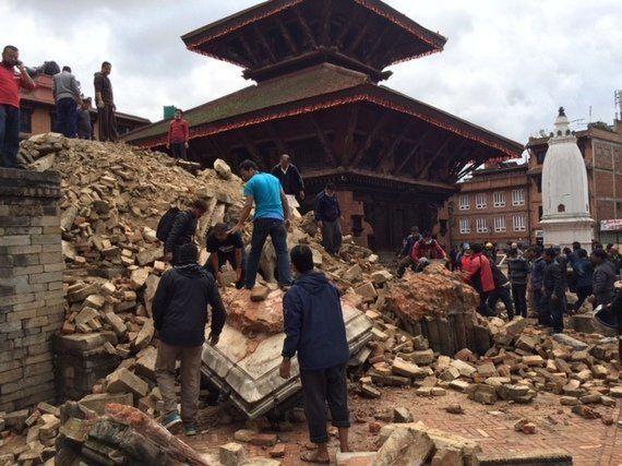 Di ritorno dal Nepal.