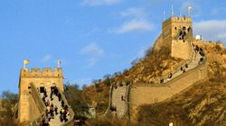 La Grande muraglia cinese si sta